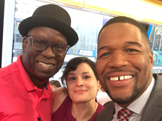 GMA Good Morning America features Michael Strahan and DJ Carl©