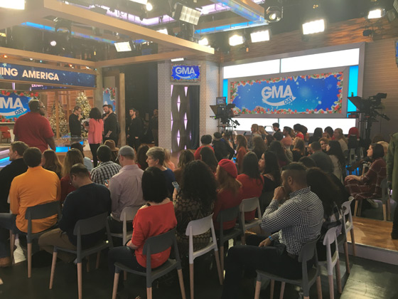 Good Morning America GMA Day attendees