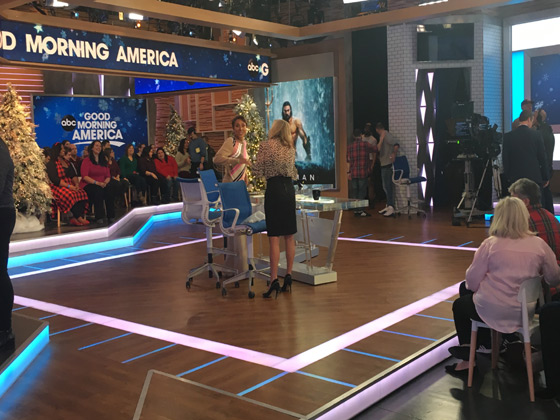 Good Morning America, GMA featuring Robin Roberts and Lara Spencer