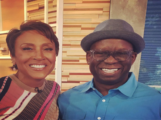 GMA Good Morning America featuring Robin Roberts and DJ Carl©