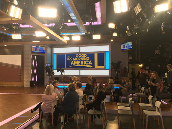 Good Morning America, GMA empty seats