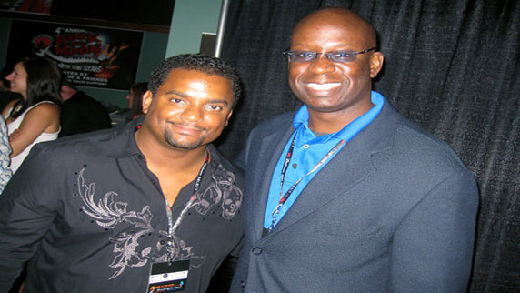 Alfonso Ribeiro and DJ Carl©