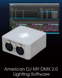 american dj dmx lighting software image