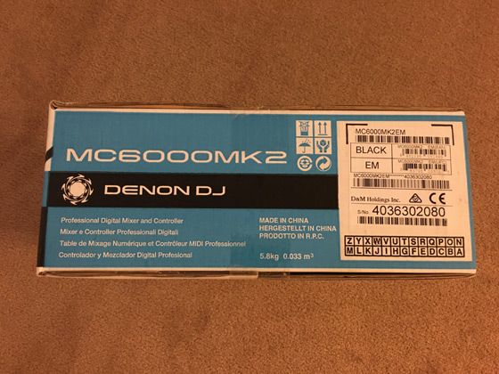 Buy Denon DJ MC6000MK2 in Orlando