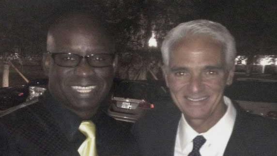 Charlie Crist and DJ Carl©