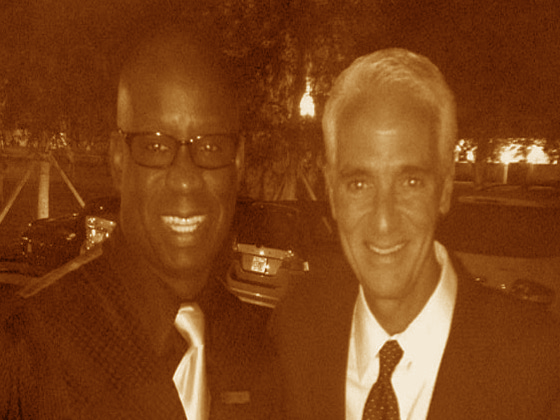 Charlie Crist and Orlando DJ Carl©
