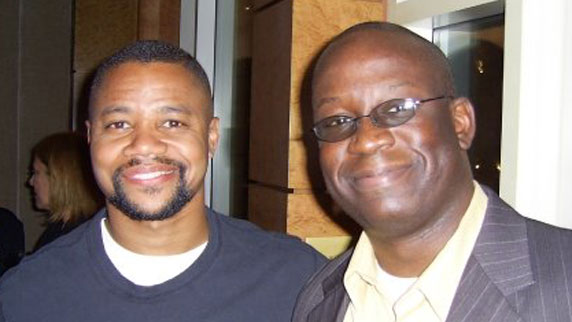 Cuba Gooding Jr. and DJ Carl©