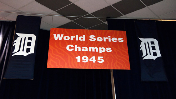 Detroit Tigers 1945 Champions