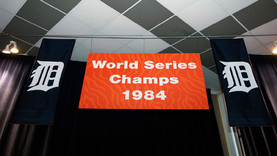 Detroit Tigers 1984 Champions
