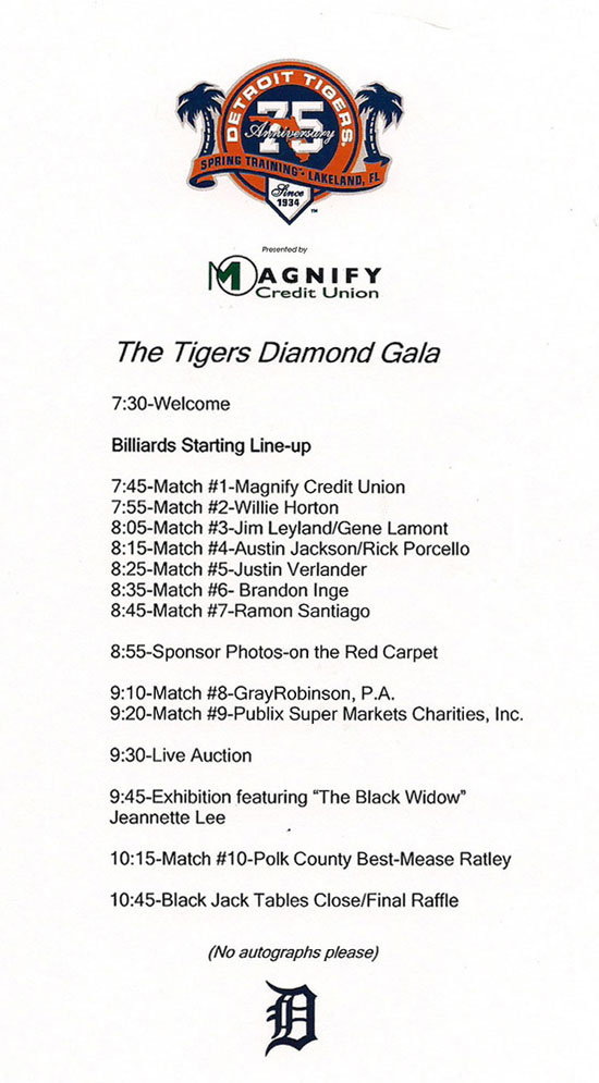 detroit tigers corporate event agenda image