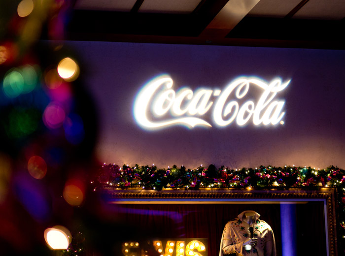 coca cola led light image