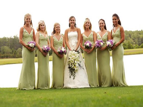 Grande Lakes Orlando bridesmaids