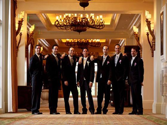 Grande Lakes Orlando groomsmen