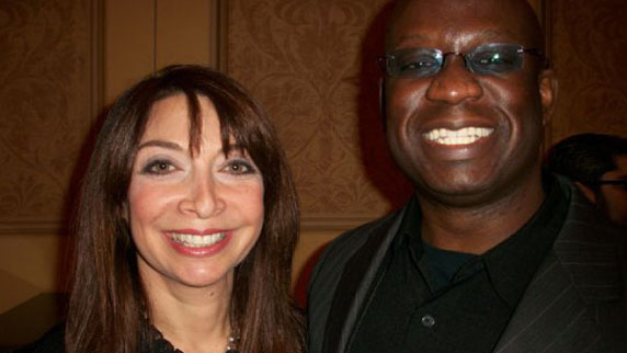 Illeana Douglas and DJ Carl©