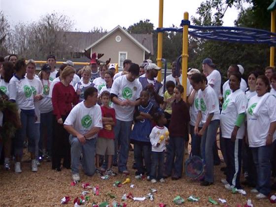 KaBOOM! playground in Orlando complete