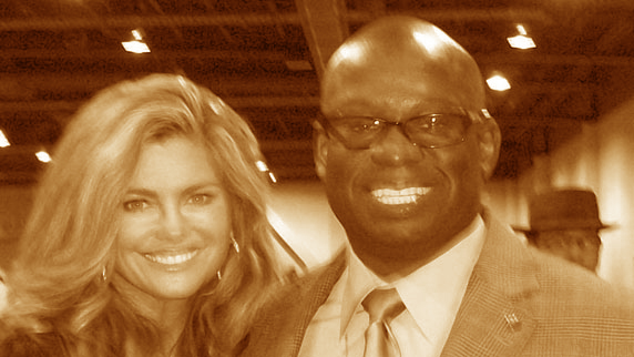 Kathy Ireland and DJ Carl©