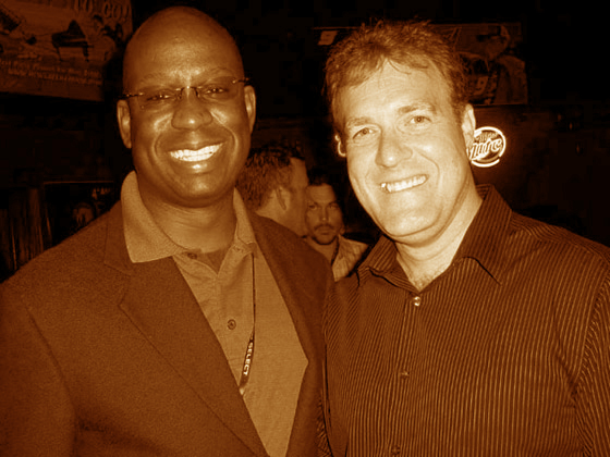 Keith Landry, Former WOFL Fox 35 anchor and Orlando DJ Carl©