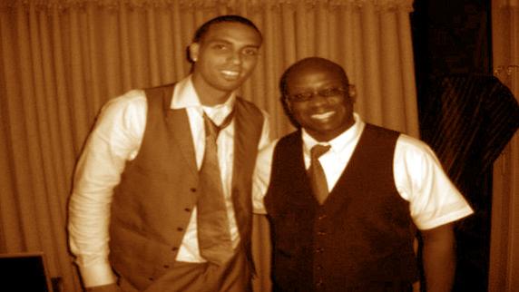 Kevin Martin with DJ Carl©