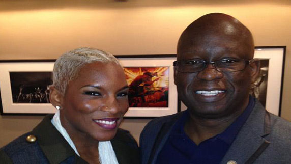 Liv Warfield and DJ Carl©