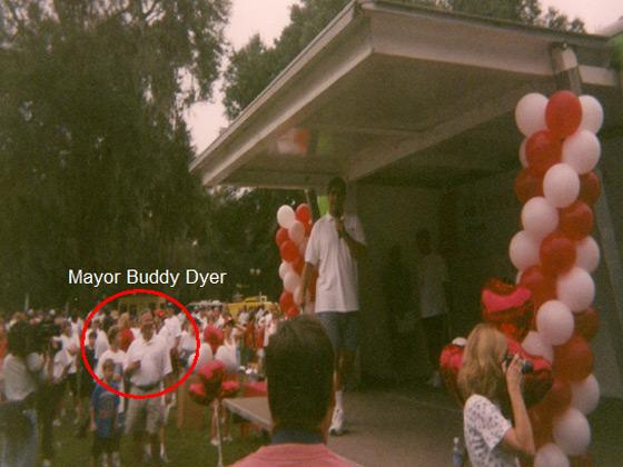 Mayor Buddy Dyer