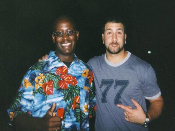 Joey Fatone with MTV DJ Carl©