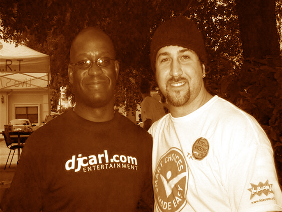 Pepsi event with Joey Fatone