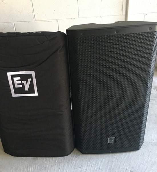 Rent EV ZLX 15P Speakers in Orlando