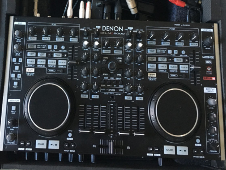 Rent Denon DJ DN-MC6000 controller in Orlando