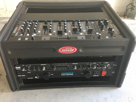 Rent DJ Case Mixer in Orlando