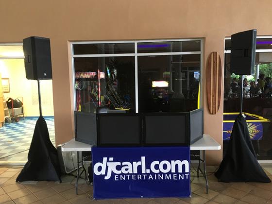Reunion Resort DJ System
