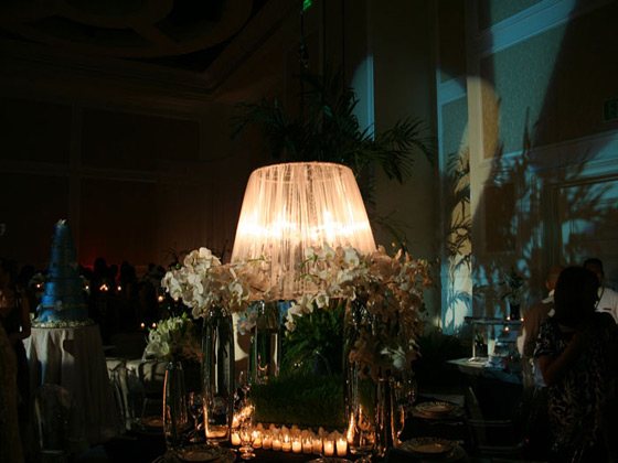Ritz Carlton Fashion Show Decor