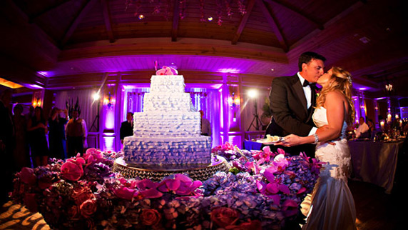Ritz Carlton Sarasota wedding cake
