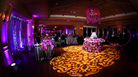 Ritz Carlton Sarasota wedding with DJ Carl©