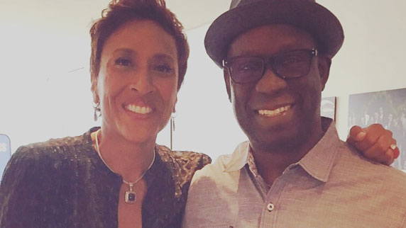 Robin Roberts and DJ Carl©