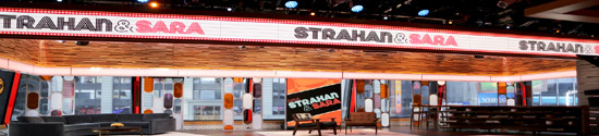 Strahan and Sara banner