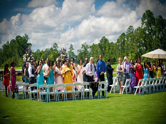 Waldorf Astoria wedding ceremony