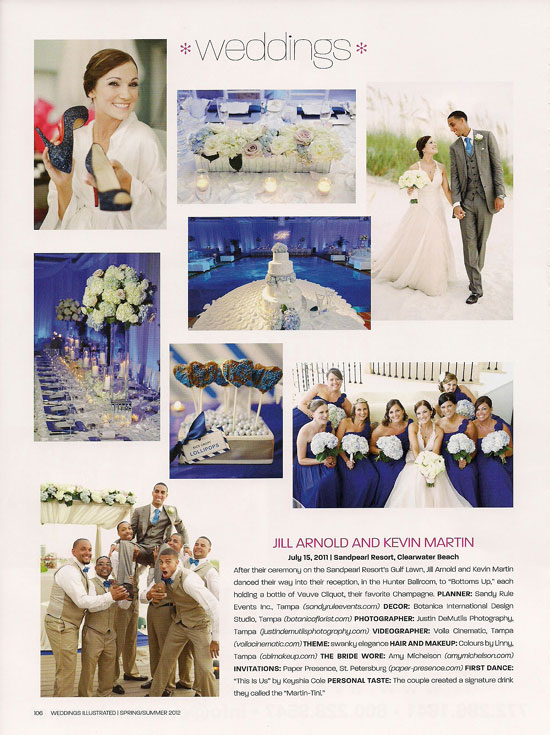 Weddings Illustrated article
