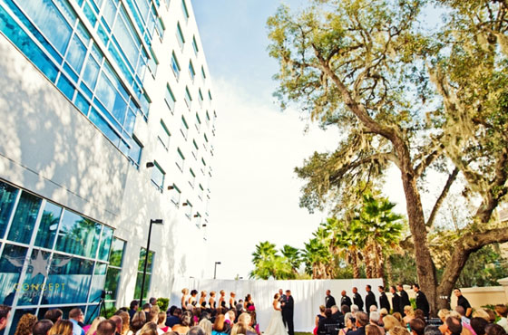 Westin Lake Mary wedding ceremony